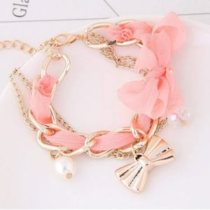 3/$20 New Pink & Gold Bracelet